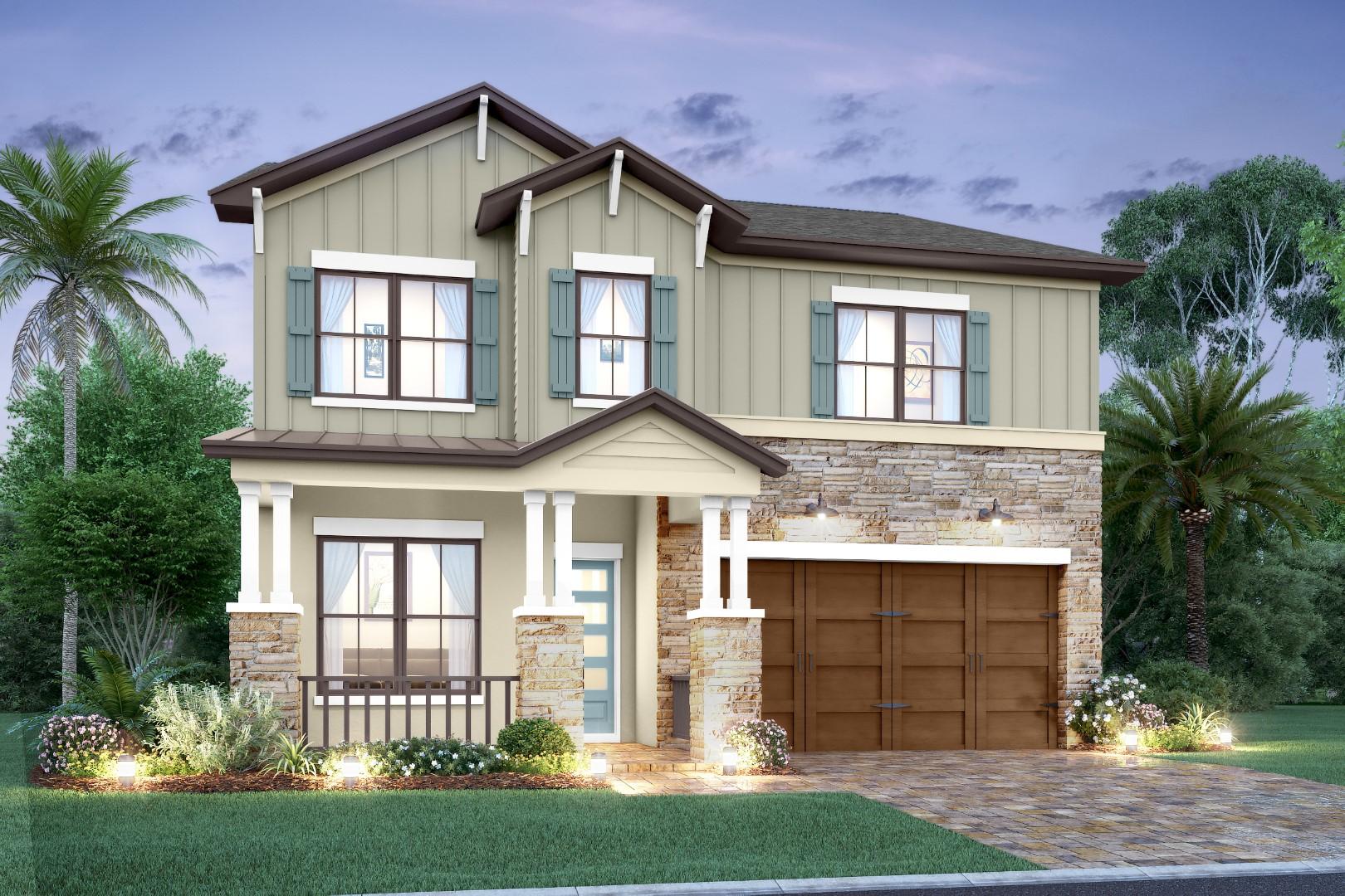 Modern Rustic-Cayman-elev