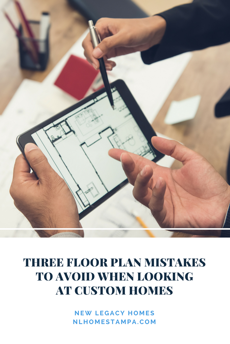 graphic that says three floor plan mistakes to avoid
