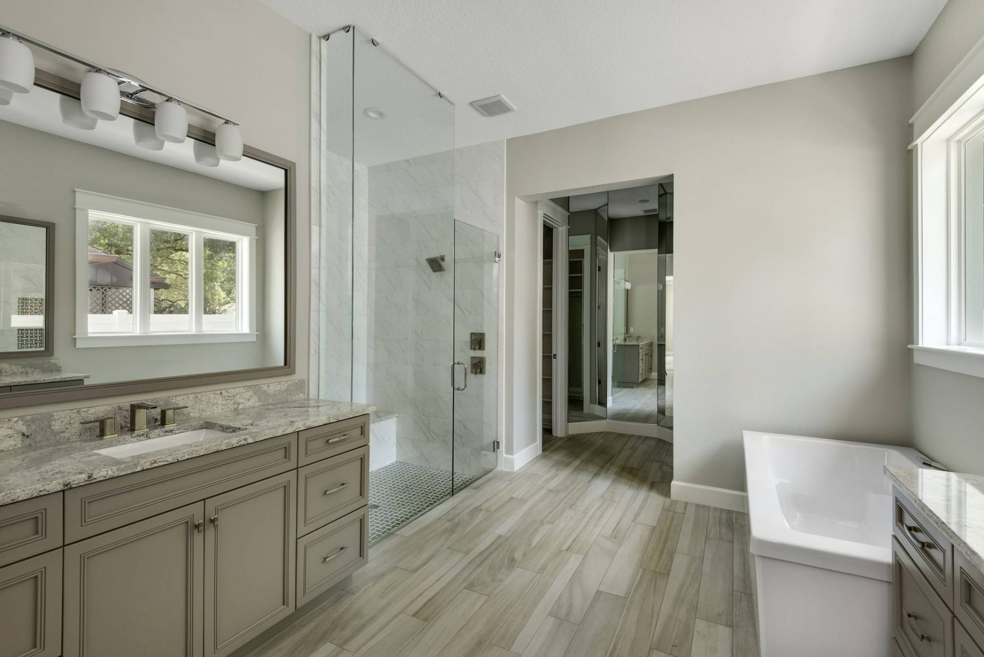 bathroom designed and built by New Legacy Homes, the best South Tampa homebuilder