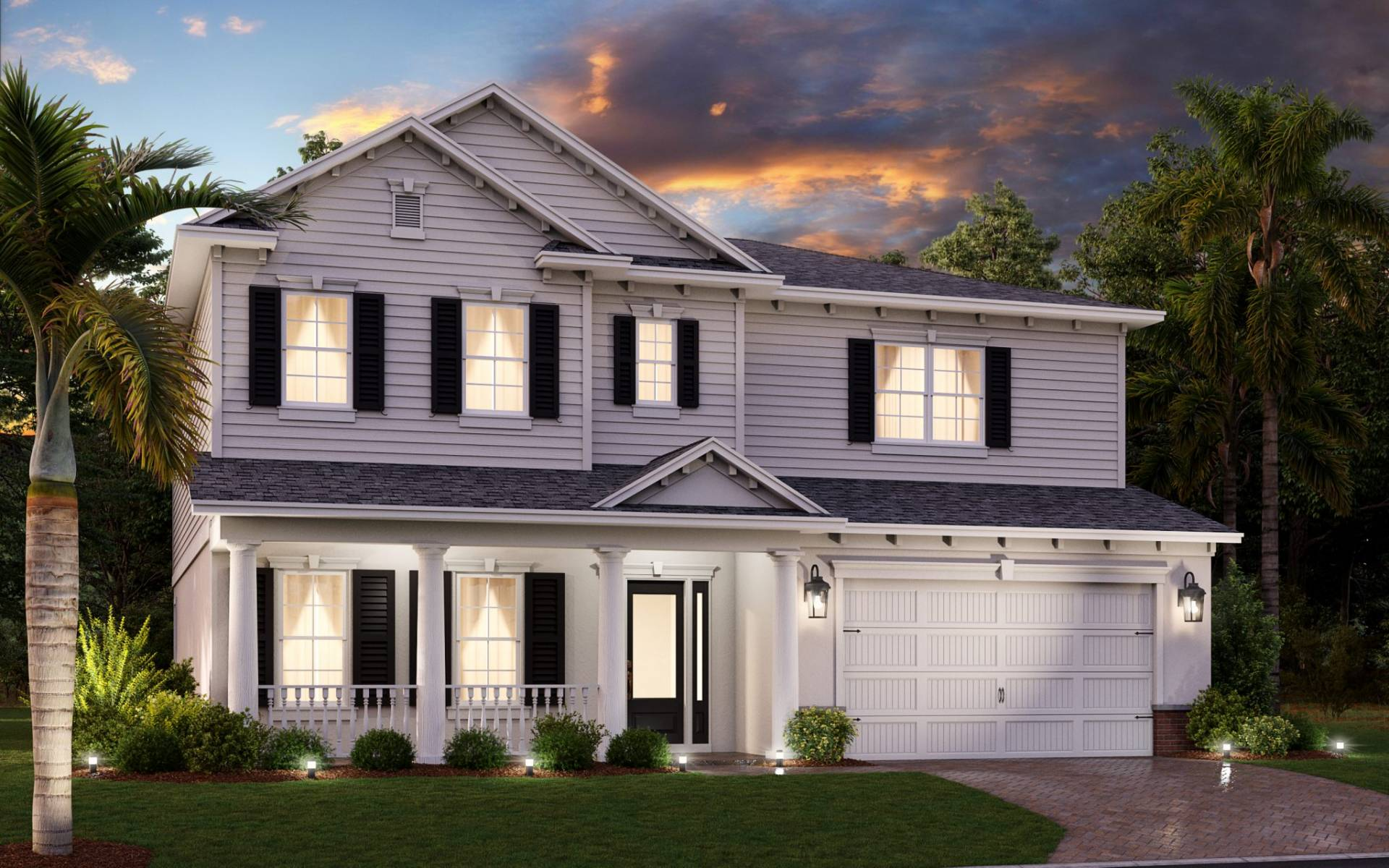Available floorplans Amani Rendering Classical