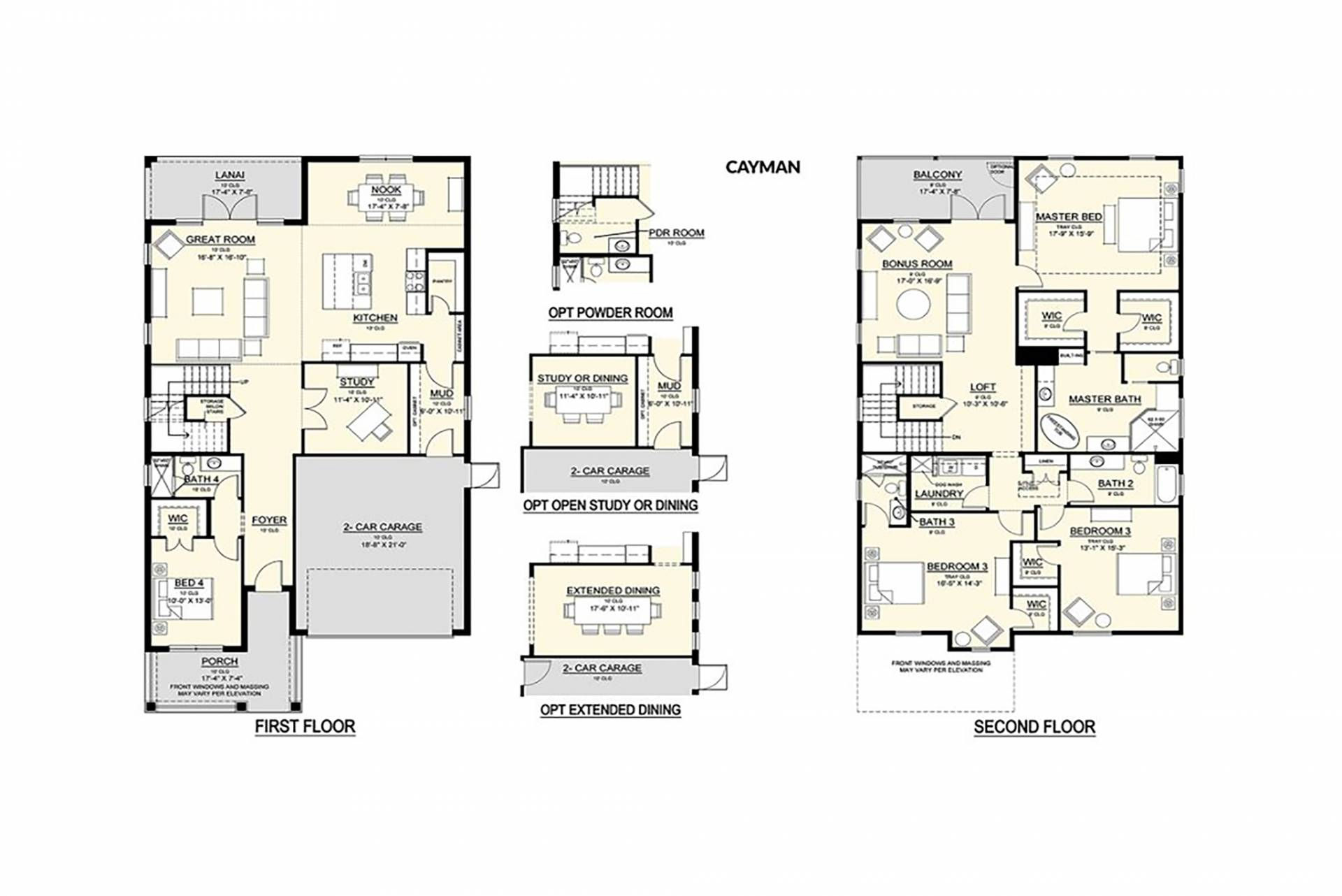 floor plan designed and built by New Legacy Homes, best of South Tampa homebuilder