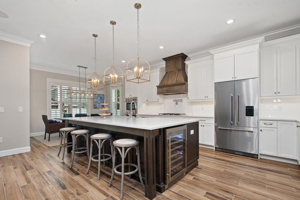kitchen designed by New Legacy Homes