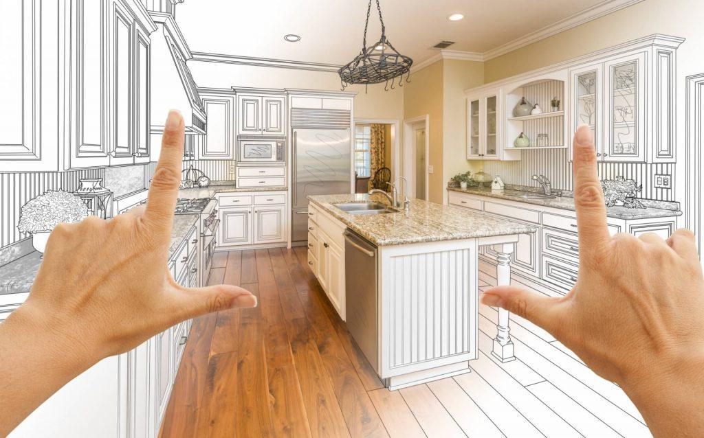 animation representing kitchen design tips