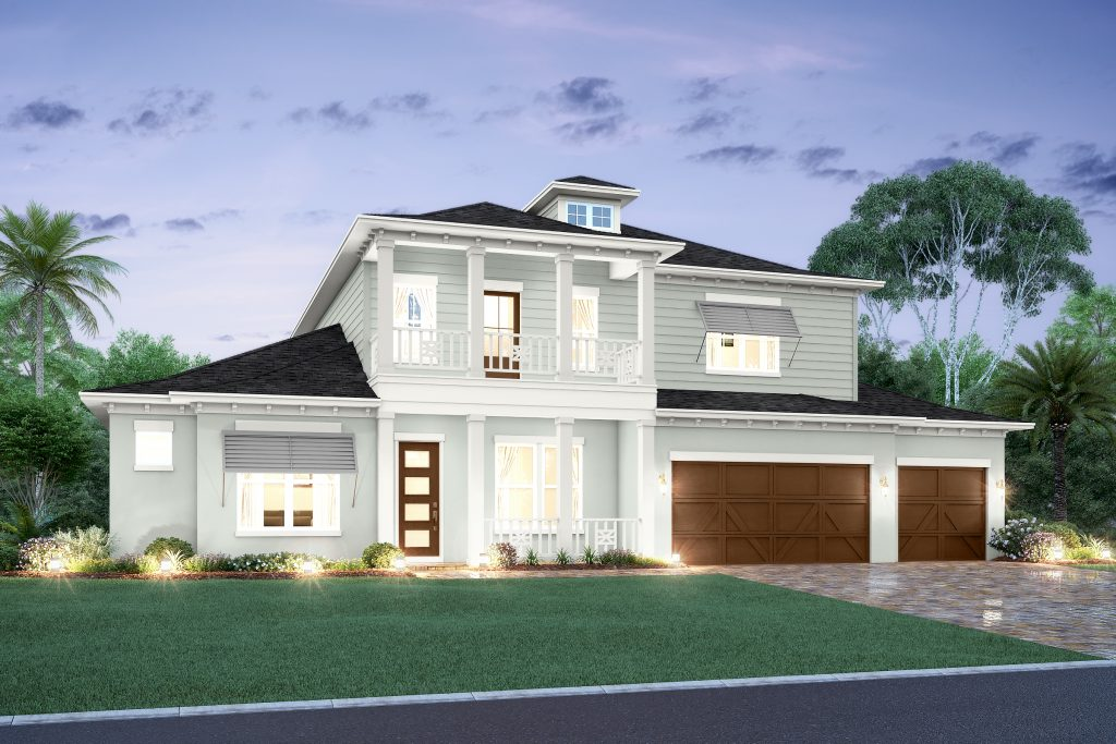 representing the Martinique floorplan designed by New Legacy Homes